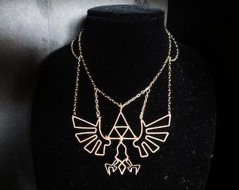 The L.O.Z.® Sacred Hyrule Crest Necklace