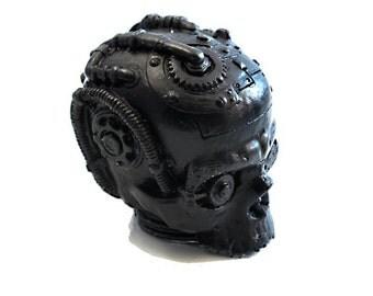 Steampunk Skull Soap - Custom Colors