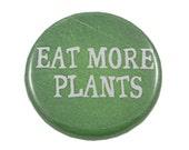 Funny Pin, Gift for Vegetarian, Gift for Vegan, Stocking Stuffer, Present for Health Nut, Funny Magnet, Healthy Diet, Plant Based Diet