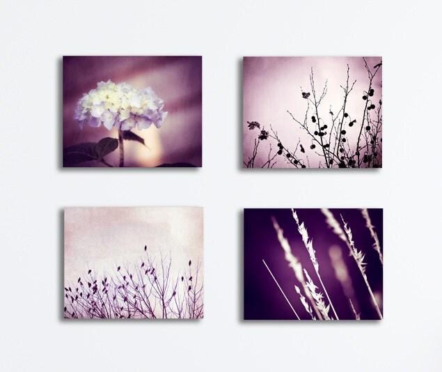 ... purple light botanical prints violet canvases. 🔎zoom