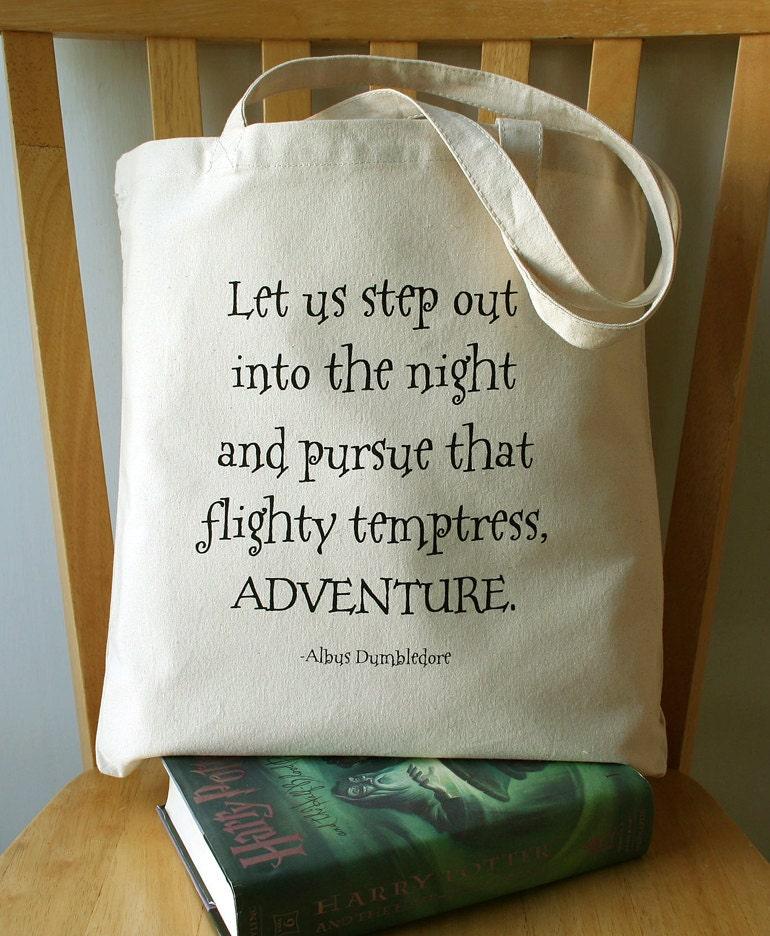 Harry Potter Book Bag : Harry potter tote bag canvas book