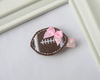 Football Hair Clip - Football Clippie