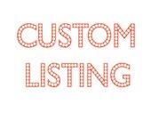 Custom Listing LIN