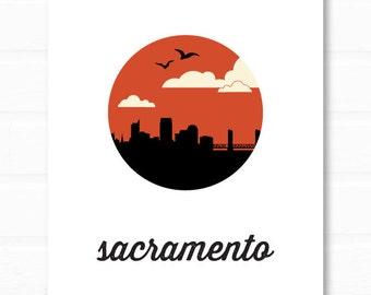 sacramento art // sacramento wall art // sacramento california art // california print
