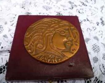 vintage medal remembrance