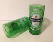 Heineken Recycled Glasses - Set of 2