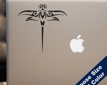 Decorative Dragonfly Decal - for Laptop, Car