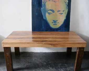 Beautiful Reclaimed Wood Dining Table.Made in Los Angeles.