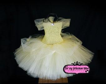 Princess Tutu Dress -newborn tutu, infant tutu, baby tutu, toddler tutu, dress up tutu, pageant tutu, photo prop tutu, flower girl tutu