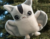 Sugar Glider plush doll - cuddly stuffed animal toy - kawaii plushie like flying squirrel - cute stuffy  - Flat Suggie the Sugar Glider