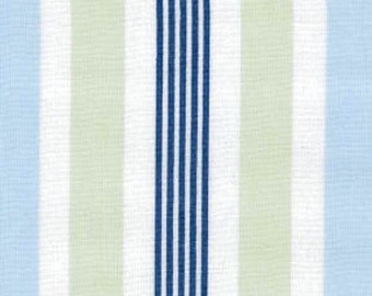 Tailored - Sky Regal Stripe by Annette Tatum from Free Spirit Fabric