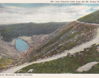 Colorado, Lost Lake, Denver Mountain Parks - Linen Postcard - Unused (AA)