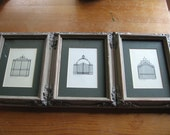 Framed Drawings of  Iron Gates in Charlotte NC