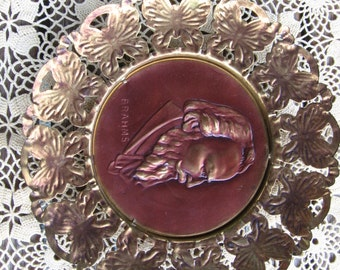 Copper and Brass Composer Plaques