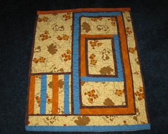 SALE - OOAK Little Boys Animal Quilt
