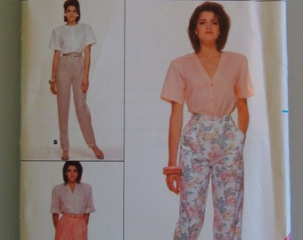 Vintage Butterick Womens Sewing Pattern  3694  size  8 - 10  - 12  Uncut