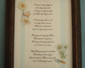 Mom's Framed Poem