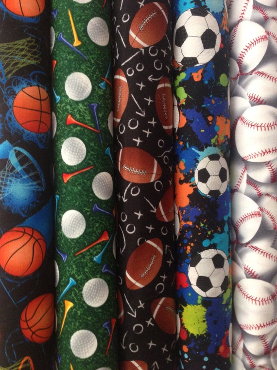 Golf Cotton Fabric From Timeless Treasures Sport C8030