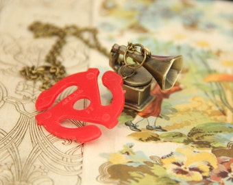 The History of Music Geek Girl Necklace