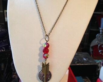 The Archer Sagittarius Zodiac History Geek Girl Necklace WAS 18 NOW 8 dollars!