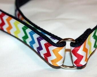 Girls Velcro Belt Rainbow Velcro D Ring Belt Chevron Girl Belt Little Girl Belt Rainbow D Ring Children's Belt