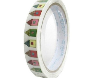 Translucent Narrow Sticker Tape - Sweet Home - 13 yards