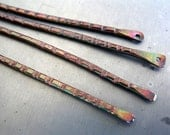 4 Rainstick Dangles or Connectors, Handcrafted Components, Choice of length & finish, Made to Order in 1 to 2 Weeks