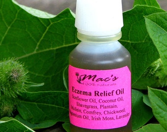 Mac's All Natural Eczema Relief Oil, Chemical Free