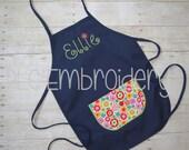 Embroidered Custom Children's Apron