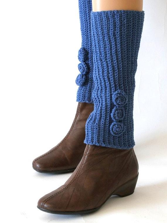 Items similar to Blue Leg Warmers PDF Pattern, Custom Leg Warmers Tutorial, K...