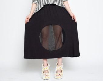 Porthole Maxi Skirt
