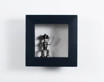 8x8 shadow box custom color mini shadow box deep shadow box display frame figurine display miniature display