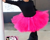 Girls Pink Tutu Set -  Ruffled Truffles Collection - Girls tutu Baby tutu Kids tutu Birthday tutu Girls clothing