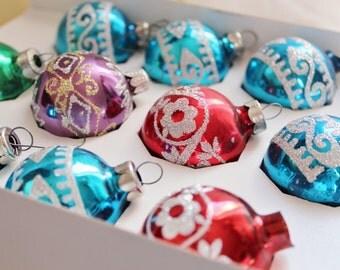 Christmas Ornaments Glass