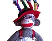 Eyerene the Sock Monkey Seer
