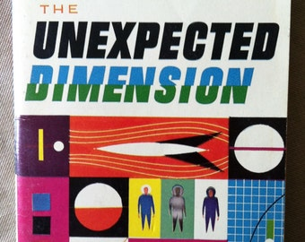 SciFi: The Unexpected Dimension by Algis Budrys, 1960, Ballantine 388k
