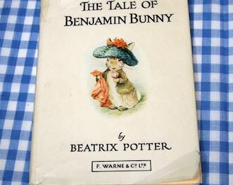 the tale of benjamin bunny, vintage 1970s children's book