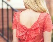 Piper Misses Bow Dress & Top  PDF Pattern Sizes XXL - XXS Ebook, Easy Tutorial