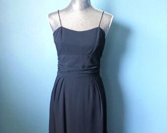1950's Little Black Pinup Dress