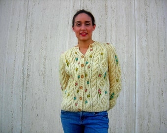 1950s/1960s knitted vintage sweater