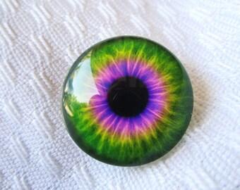 Glass eye-jewelry supplies-focal designer bead