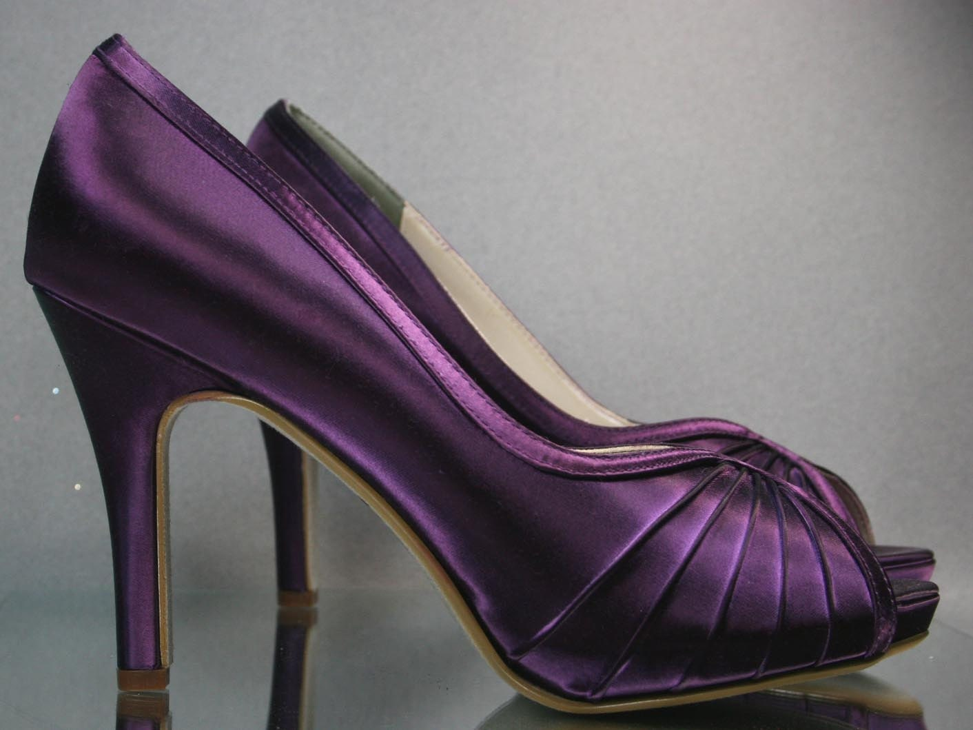 Plum Wedding Shoes Purple Wedding Shoes By