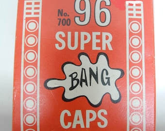 Vintage Package of No 700 Super Bang Caps with 72 Ring Shots