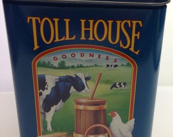 1990 Nestle Toll House Cookies limited Excellent condition with recipe/25 cents off coupon insert original rare
