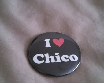 """I heart Chico, California Pinback Button or Magnet 2.25"""""""