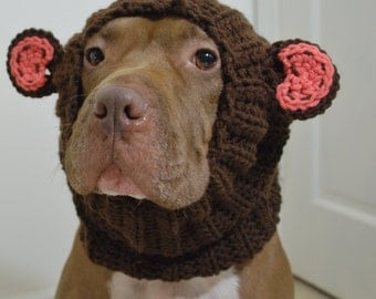 Dog Snood Monkey MADE TO ORDER