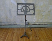 Vintage Industrial Music Stand