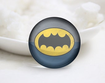 10mm 12mm 14mm 16mm 18mm 20mm 25mm 30mm Super Hero-Handmade Round Photo glass Cabochons (P2688)