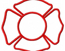 Maltese Cross Embroidery Design - Instant Download
