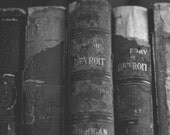 History of Detroit Vintage Books - New Vintage Photograph - Black and White